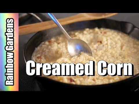 Southern Creamed Corn Recipe – How to Make Creamed Corn