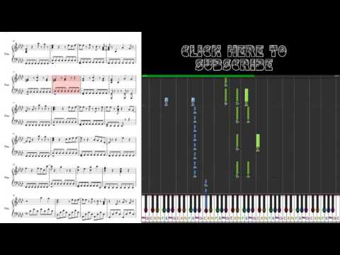 In The End - Black Veil Brides - Piano Tuorial With Sheet Music