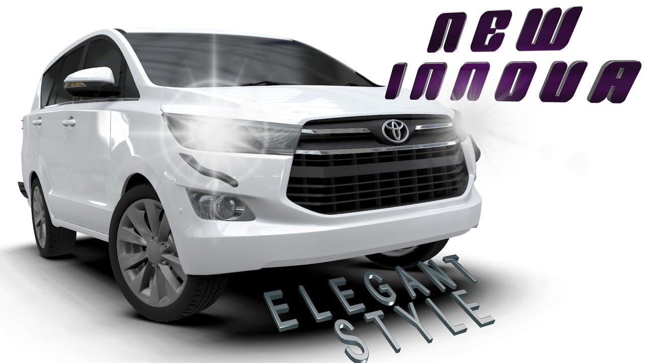 Jual Aksesoris All New Kijang Innova 2016 Yaris Trd Sportivo Cvt Aerokitz Modifikasi Toyota Elegant Style