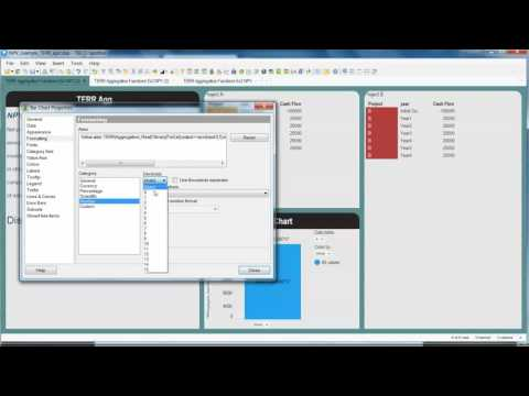 NPV in Spotfire TERRagg example - YouTube