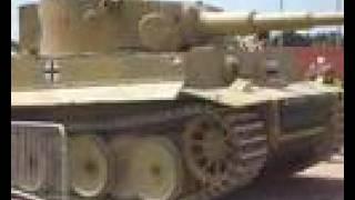German Tiger Tank 131 at Bovington Museum Tankfest 2008