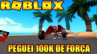 ROBLOX-I TOOK 100K OF FORCE IN BOXING SIMULATOR 2