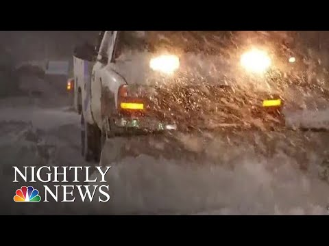 Several Southern States Reeling After Receiving Record Snow | NBC Nightly News