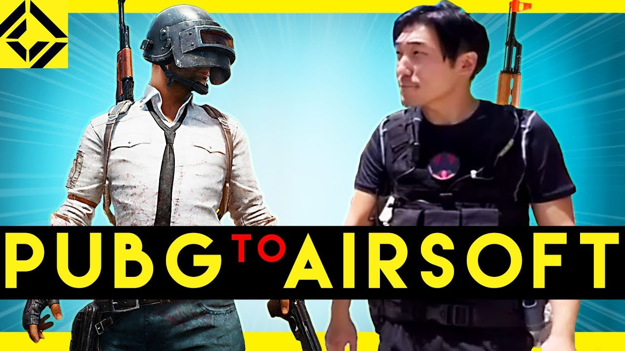 How To Make A PUBG Airsoft Game