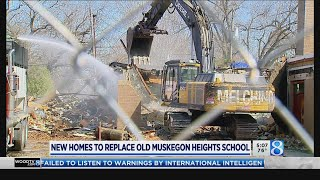 New homes to replace old Muskegon Heights school