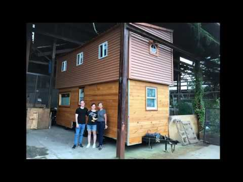 Two Story Tiny House On Wheels Part 2 Interior Youtube