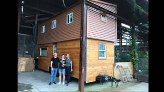 Two Story Tiny House On Wheels Part 2: Interior