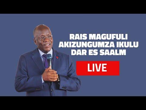 #LIVE KUTOKA IKULU -DSM: RAIS MAGUFULI AKIZUNGUMZA NA ...