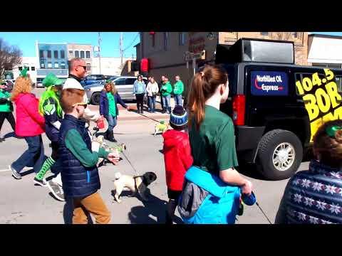 St. Patrick's Day Parade - Traverse City, Michigan - 2018 - [4K]