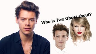 """Harry Styles saying the meaning behind """"TWO GHOST"""""""