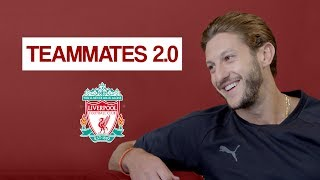 Who is the WORST dressed Liverpool player?! | Adam Lallana Teammates 2.0