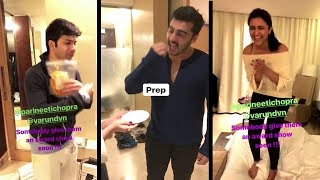 Varun Dhawan, Parineeti & Arjun Kapoor's FUNNY Instagram Videos TOGETHER