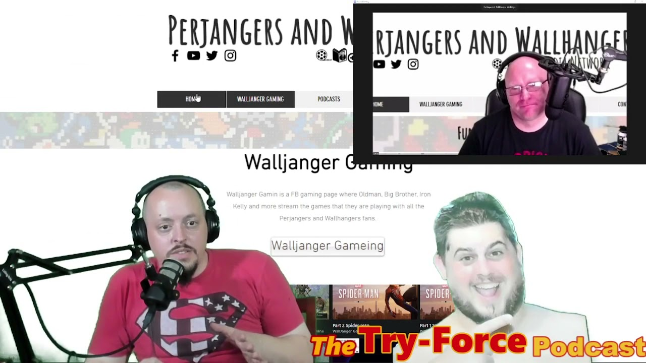 #253 Try-Force Podcast:  Kojima Crossing Ultimate Lebowski's