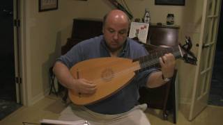 Gigue in d minor by SL Weiss for Baroque Lute