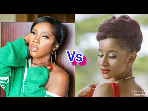 Adesua Banky W's wife and Tiwa Savage: Who sings better?