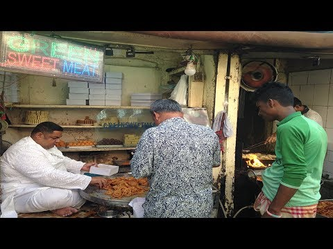 Thatari Bazar Green Sweet Meat | Imarti Sweet | Crazy Fooder | Sweets Foods | আমিত্তি