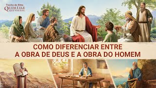 """Filme evangélico """"Quem é Ele que voltou"""" Trecho 3 – Como diferenciar entre a obra de Deus e a obra do homem"""