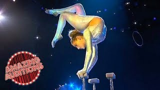 America's Got Talent: The Champions - Sofie Dossi Puts a New Spin on Things