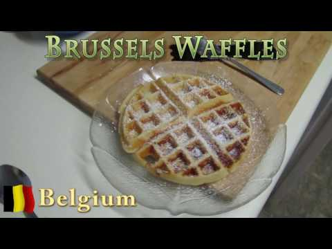 Worldly Treats with No Meats - Belgium - Brussels Waffles
