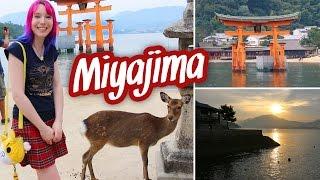 Miyajima: SO BEAUTIFUL! Deer, Torii in the water, Mount Misen - Japan vlog