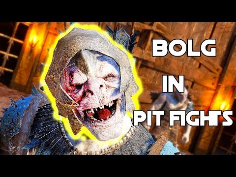 Shadow Of War - BOLG THE JOKER In Online Pit Fight! Overlord VS Overlord!