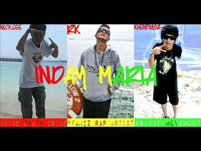 INDAY MARIA BY: RK, KHENFIUSZ AND NICKGEE Chords - Chordify