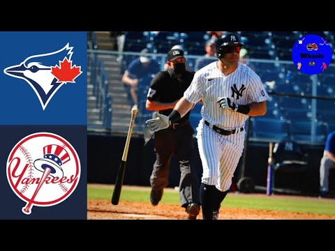 Download Yankees vs Blue Jays Highlights (Spring Training Opener!)   2021 MLB Highlights (Voiced by Wheels)