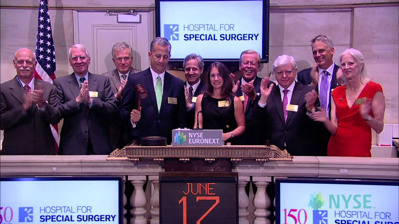 Hospital for Special Surgery Celebrates its 150th
