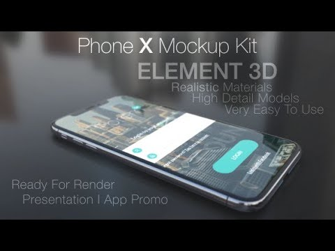Phone X Mockup Kit | Free Download After Effects Templates From ...
