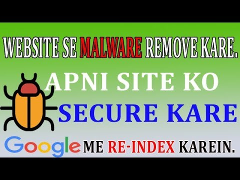 how to remove malware ín websíte or resubmít websíte ín google search results