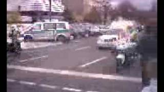 Motorcade of King Abdullah in Berlin
