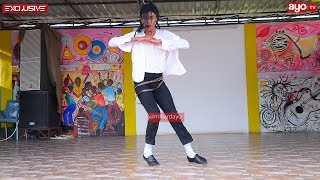 TANZANIAN MICHAEL JACKSON DANCES quotHOLD MEquot