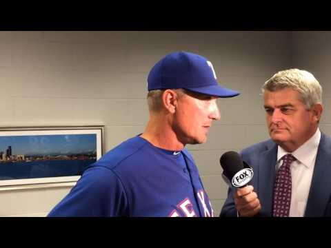 Jeff Banister talks about decision to scratch Yu Darvish