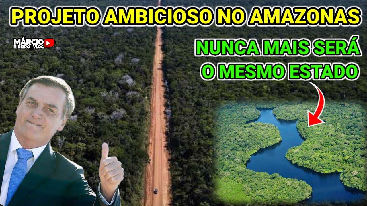 ?ESTE PROJETO VAI MUDAR O AMAZONAS, MINISTRO DE BOLSONARO LEVARÁ INFRA. NA VEIA, NOVOS PORTOS IP4