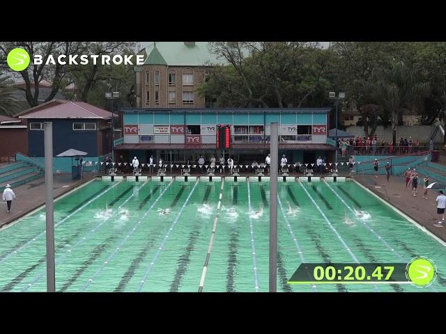 #203 Mixed 50 LC Meter Backstroke Heat 2 of 6 Finals