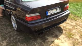 My BMW E36 320i Coupe Sound(New Exhaust System)
