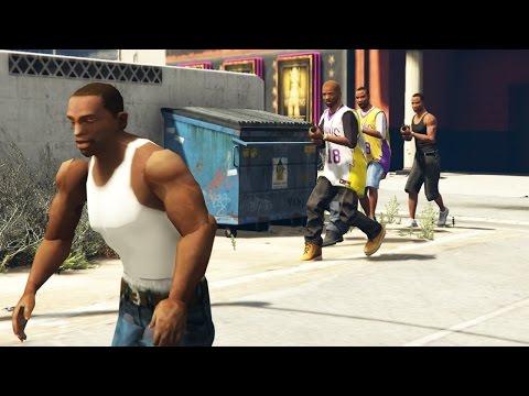 GTA San Andreas Loquendo - CJ en GTA V (PARTE 2)