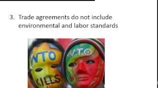 Criticisms of the WTO