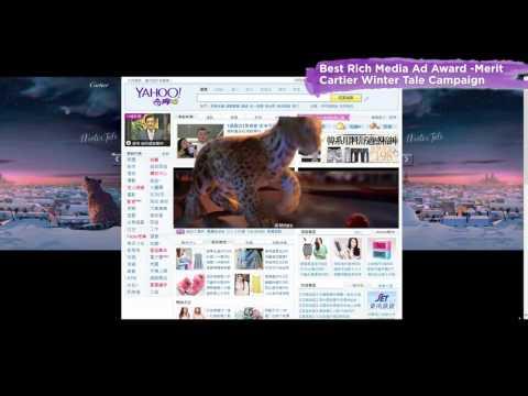 North Asia Award - Best Rich Media Ad Award - Merit - Cartier