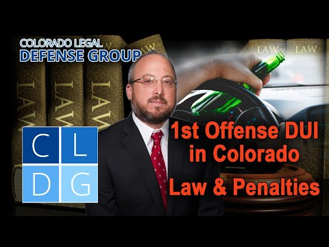 First-time DUI in Colorado: Will I go to jail?