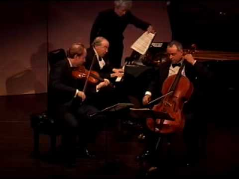 "Beaux Arts Trio plays Dvorak ""Dumky"" Trio, ii"