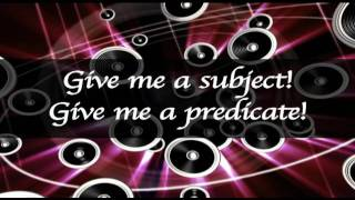 Subject and Predicate Song - Educational Music Video