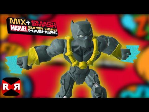 Marvel Super Hero Mashers - Black Panther - Mix+Smash - iOS / Android Gameplay