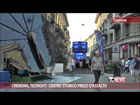 Cremona, Tecnight: centro storico preso d'assalto