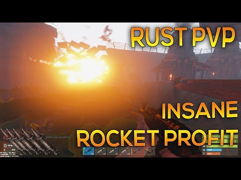 ROCKET PROFIT, ONLINE RAID DEFENSE | Rust PVP #6