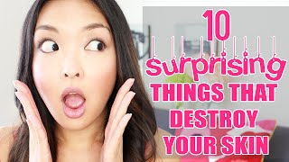 10 Surprising Things That Destroy Your Skin!