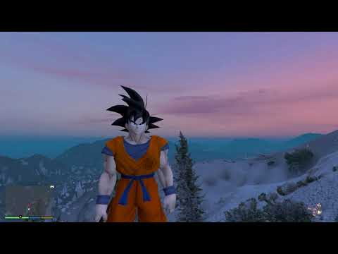 DRAGON BALL SUPER BROLY - LUTA DO GOKU VS BROLY NO GTA 5 !!