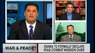 MSNBC w/ Cenk: Iraq War Over? (Discussion)