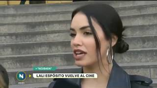 #Acusada | Nota de Lali Esposito en Telefé Noticias!