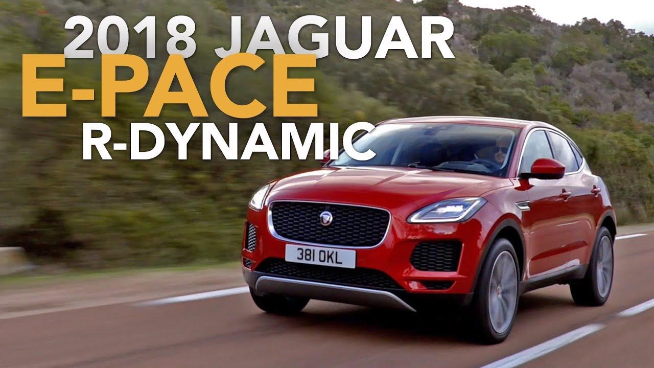 2018 Jaguar E-Pace Review - First Drive - Dauer: 6 Minuten, 39 Sekunden
